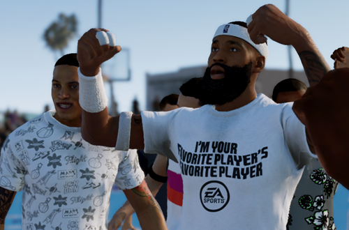 Celebrating in a LIVE Event (NBA Live 19)