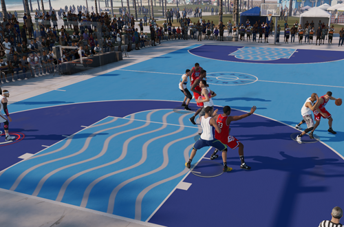 On Defense in a LIVE Event (NBA Live 19)