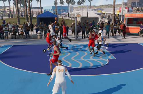 On Offense in a LIVE Event (NBA Live 19)