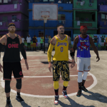 Playing online in LIVE Run (NBA Live 19)