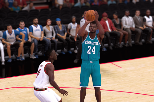 NBA 2K Retro Teams Idea: 2001 Hornets