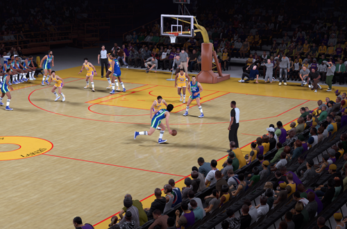 Inaccurate Courts for Retro Teams (NBA 2K18)