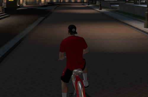 Riding a Bike in The Neighborhood (NBA 2K19 MyCAREER)