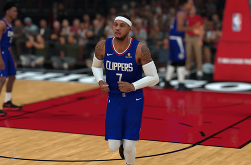 Carmelo Anthony on the Clippers (NBA 2K19 MyCAREER)