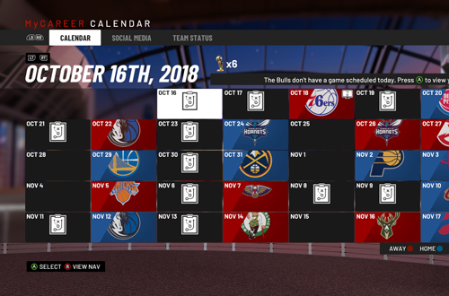 Monday Tip-Off: Experiments in NBA 2K19's MyCAREER | NLSC