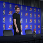 Retiring in MyCAREER (NBA 2K19)
