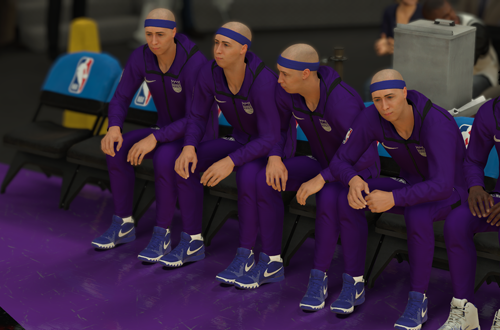 Clone Placeholders on Retro Teams (NBA 2K19)