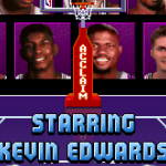 Kevin Edwards Credit in Attract Mode (NBA Jam TE PC)