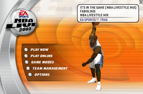 Changing Music in NBA Live 2003