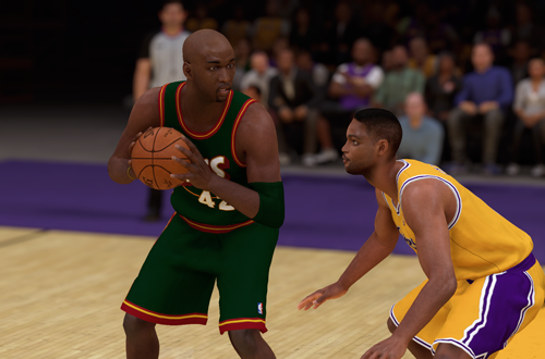 Retro Teams Idea: 1998 Seattle SuperSonics