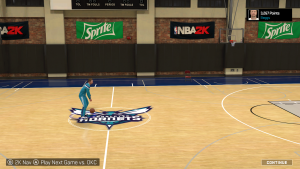 NBA 2K15 MyCOURT