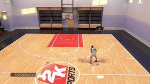 NBA 2K16 MyCOURT