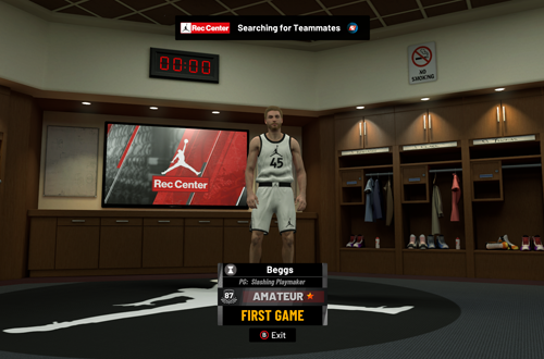 Jordan Rec Center Lobby in NBA 2K19 PC
