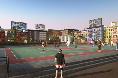 Loitering in The Playground (NBA 2K19)