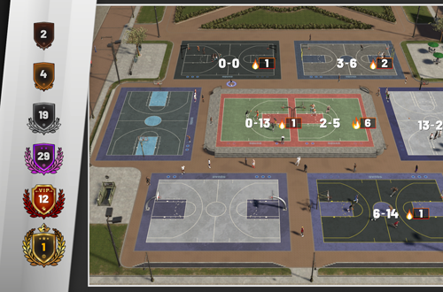Overview of The Playground (NBA 2K19)