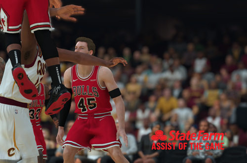 State Farm Replay Camera (NBA 2K19)