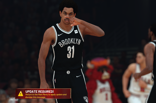 Updated Required ruining Presentation in NBA 2K19