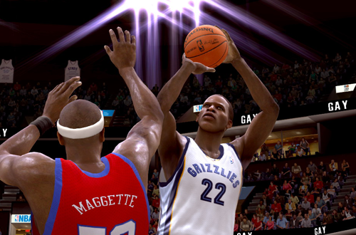 Rudy Gay in NBA Live 09