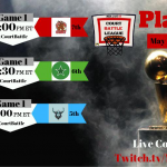 NBA Live 19 Court Battle League Playoffs