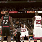 Bulls vs Blazers in NBA 2K11