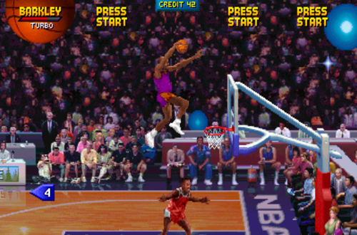 Charles Barkley in NBA Jam (Arcade)