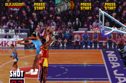 Hakeem Olajuwon On Fire