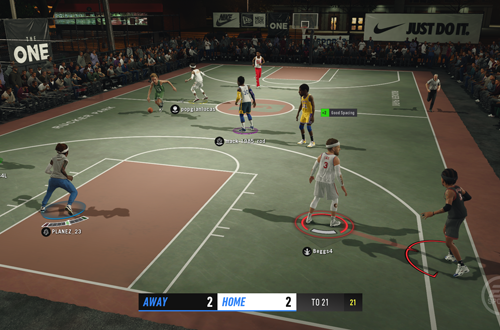 Player Lock Camera in LIVE Events (NBA Live 19)
