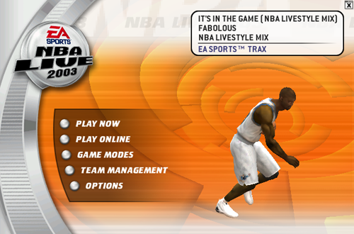 NBA Live 2003 Soundtrack: It's In The Game
