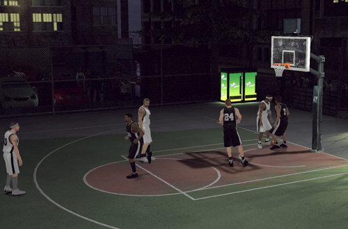 Blacktop in NBA 2K11