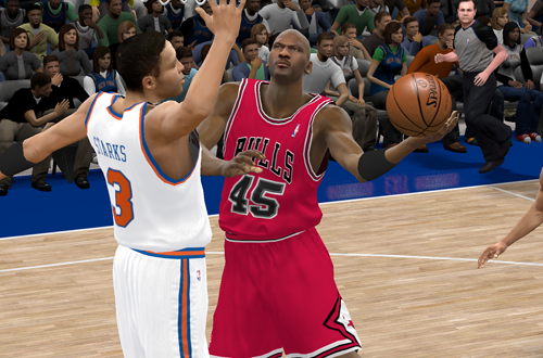 Double Nickel in NBA 2K11