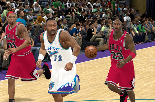 The Flu Game in NBA 2K11