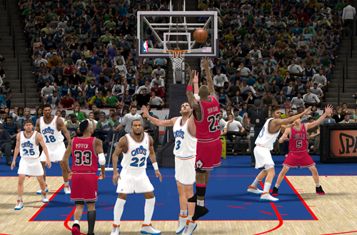 Recreating The Shot in NBA 2K11