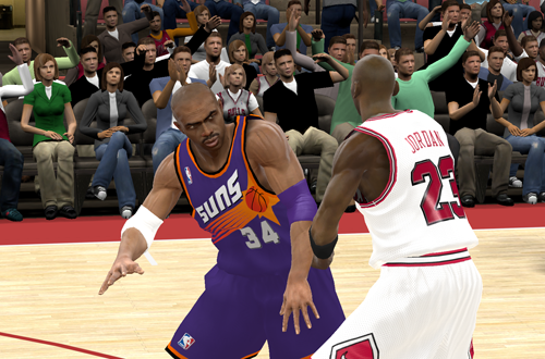 His Airness vs Sir Charles in NBA 2K11