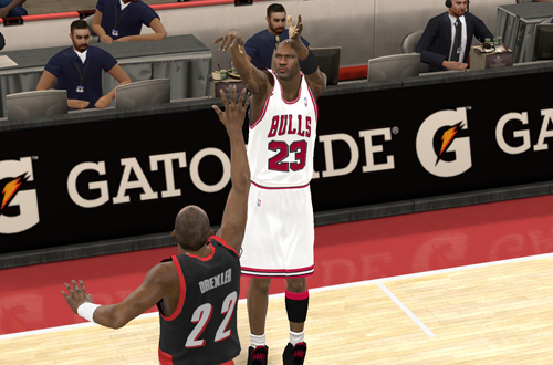 The Shrug in NBA 2K11