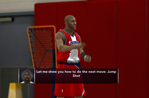Lessons from Michael Jordan (NBA 2K12)
