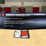 Welcome to Training Camp in NBA 2K12