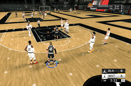 Jersey Problem in the Jordan Rec Center (NBA 2K19)