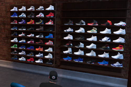 Shoe Collection in MyCAREER (NBA 2K19)