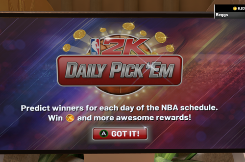 Daily Pick 'Em in NBA 2K19