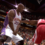 Shaquille O'Neal in NBA Live 09