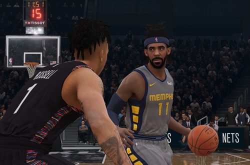 Mike Conley in NBA Live 19