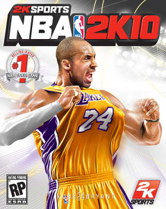 The Actual NBA 2K10 Cover