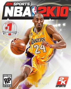 NBA 2K10 Cover Design Runner-Up