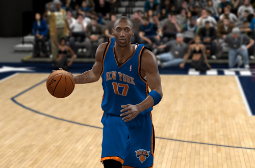 Kobe Bryant on the New York Knicks (NBA 2K10)