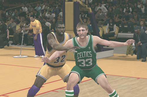 Magic Johnson & Larry Bird in NBA 2K12