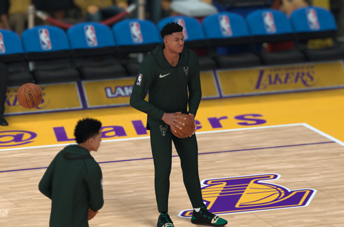 Giannis Antetokounmpo Pre-Game in NBA 2K19