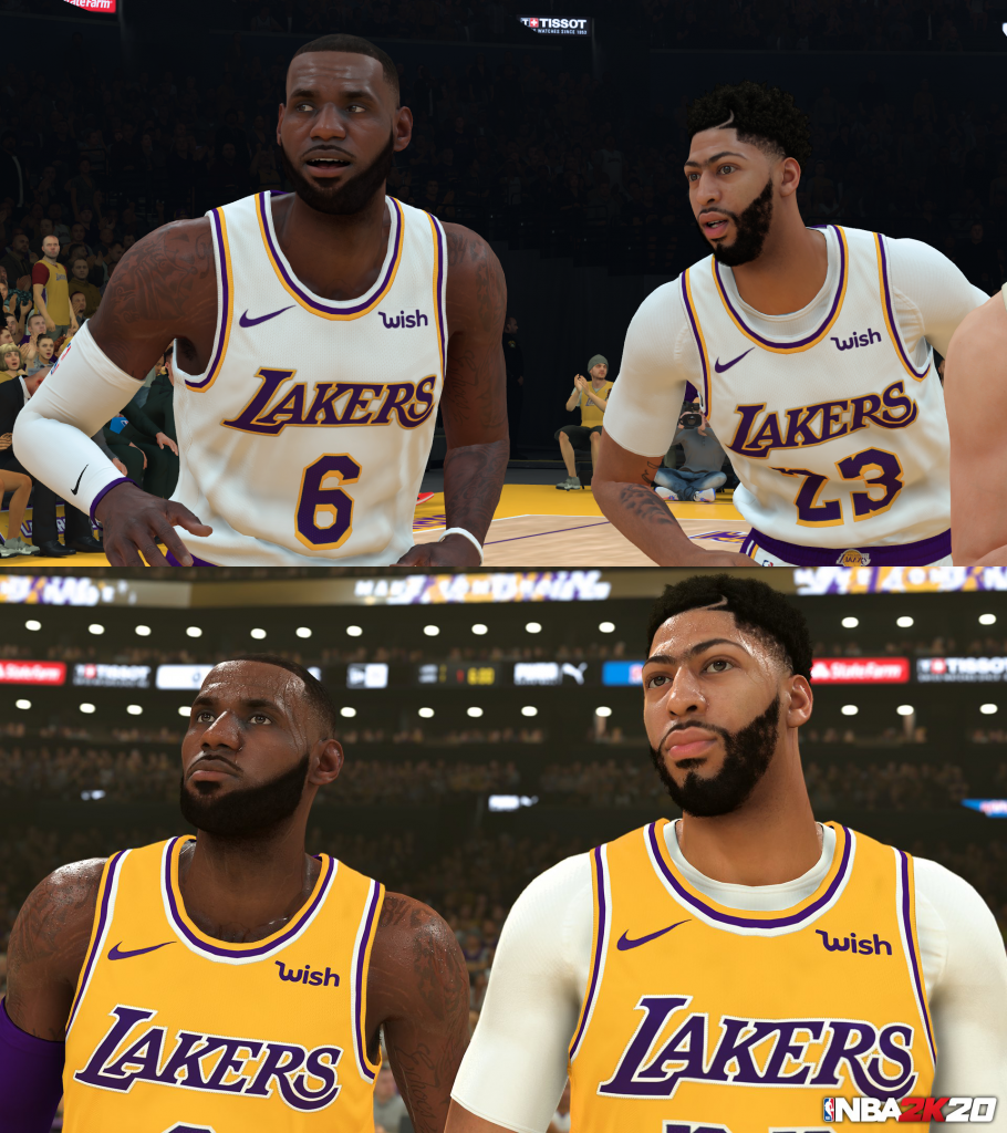 NBA 2K19 to NBA 2K20 Comparison
