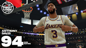 Anthony Davis 94 Overall in NBA 2K20