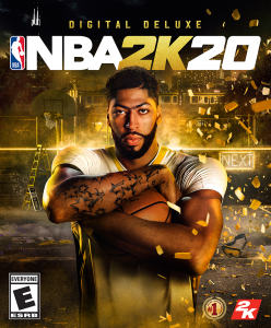 NBA 2K20 Digital Deluxe Edition Cover