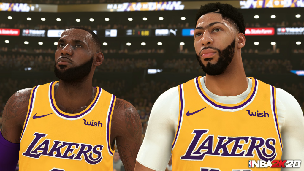 First NBA 2K20 Screenshot: LeBron James & Anthony Davis